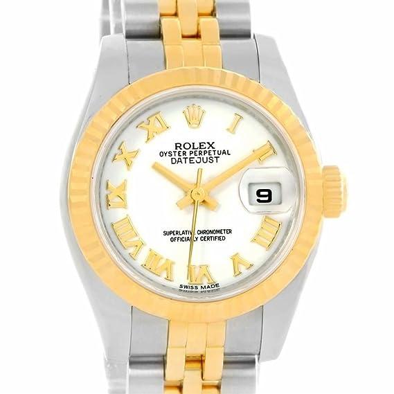 Rolex Datejust automatic-self-wind – Reloj 179173 (Certificado) de segunda mano