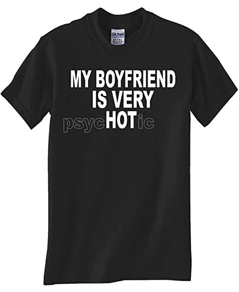 Psychotic Boyfriend Black T Shirt