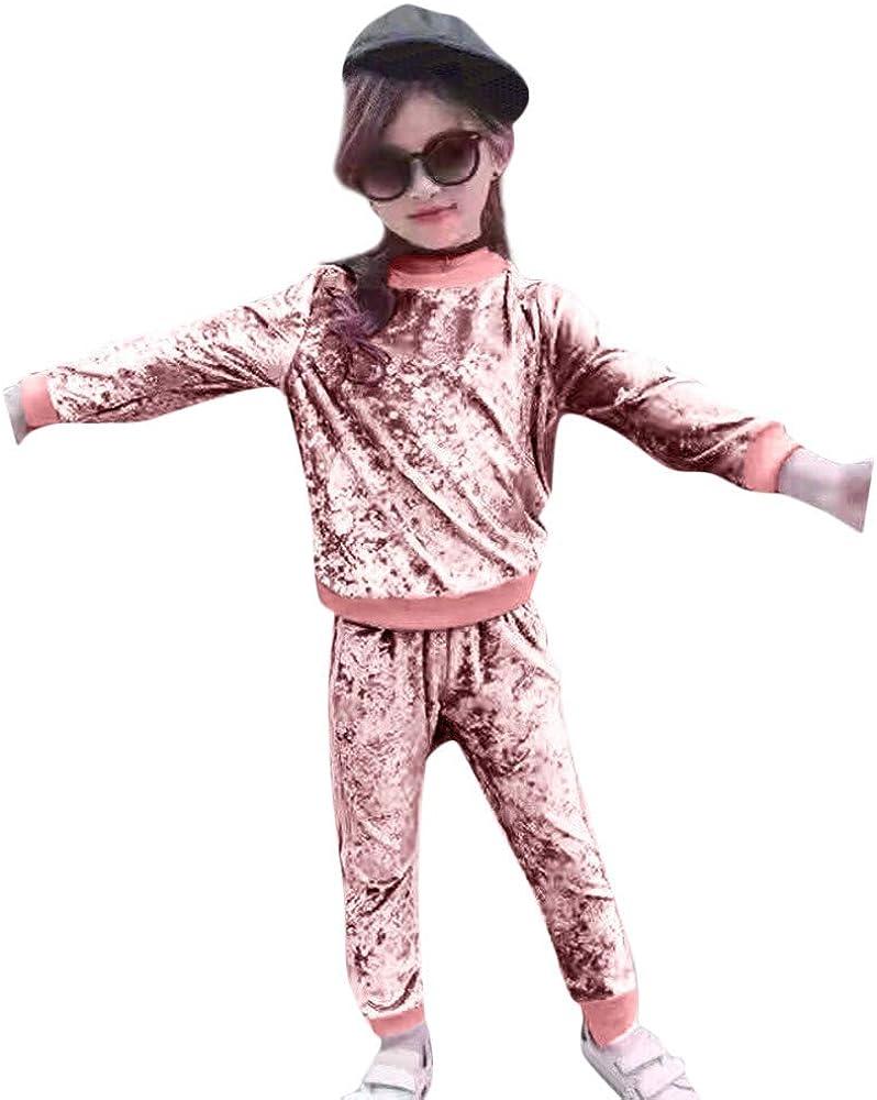 Bebe K Youth Conjunto Nina Pantalon Y Top Deportivo Chandal Ropa De Nina De 6 Meses A 4 Anos En Oferta Ropa Para Bebe Nina Recien Nacido Invierno Ropa De Nina A La