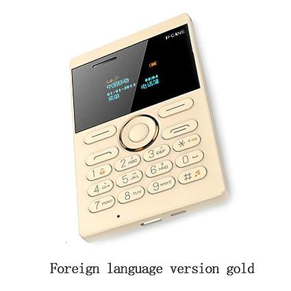 Amazon.com: E1 320 mAh cuádruple banda desbloqueado teléfono ...