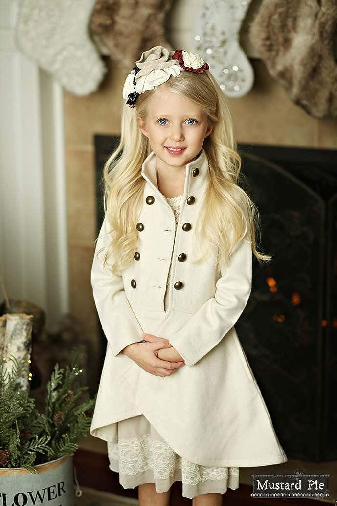 Mustard Pie Gorgeous White Nicolette Jacket