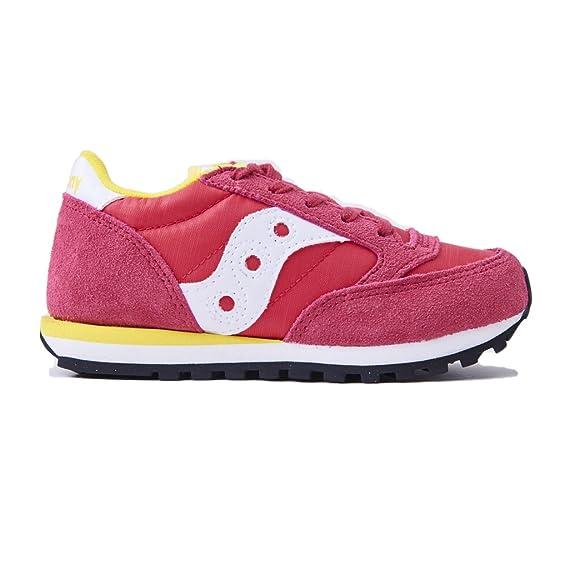 Sneakers Saucony bambina SC57789 PINK WHITE jazz original kids ... c30ef72198f