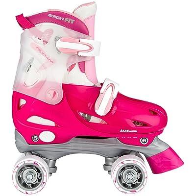 Nijdam - Joven hardboot Roller Skates Junior Regulable: Deportes y aire libre