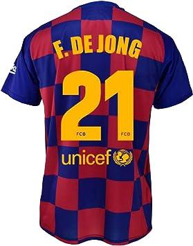 FCB Camiseta Primera Equipación Infantil Frenkie de Jong del FC ...