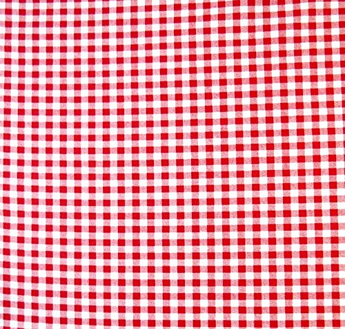 SHEETWORLD.COM Gingham Check Fitted Bassinet Sheet Color: Red