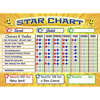 AmazonCom Magnetic Reward  Star  Responsibility  Behavior
