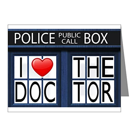 Amazon greeting cards 20 pack police call box i love doctor greeting cards 20 pack police call box i love doctor who m4hsunfo