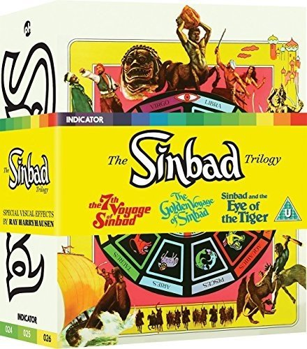 Blu-ray : The Sinbad Trilogy (limited Edition) (Limited Edition, With DVD, Boxed Set, United Kingdom - Import, 6PC)