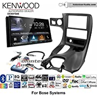 Volunteer Audio Kenwood DDX9704S Double Din Radio Install Kit with Apple Carplay Android Auto Fits 1997-2004 Corvette (With Bose)