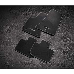 mopar 82214928ab carpet floor mats dodge challenger w srt logo automotive. Black Bedroom Furniture Sets. Home Design Ideas