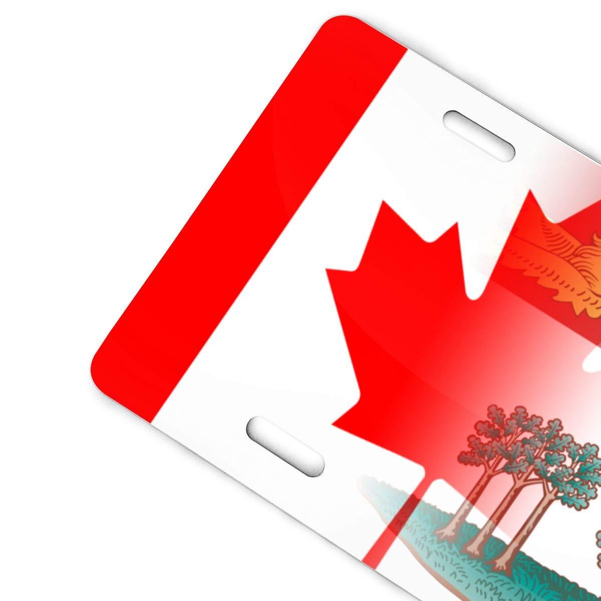 Flag of Prince Edward Island Canada Art Metal License Plate Vanity Car Plate 6 X 12