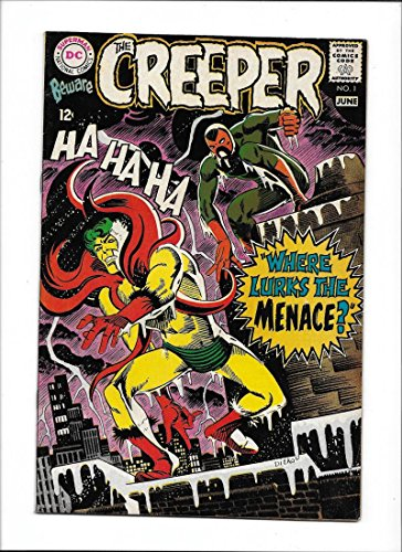 "BEWARE THE CREEPER #1 [1968 VG-FN] ""WHERE LURKS THE MENACE?"" DITKO ART"