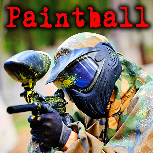 2014 Marker - Automatic Co2 Paintball Marker: Distant Fire and Close Impact on Wood Wall 2