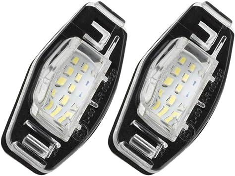 Amazon.com: Partsam - 2 bombillas de luz blanca para ...