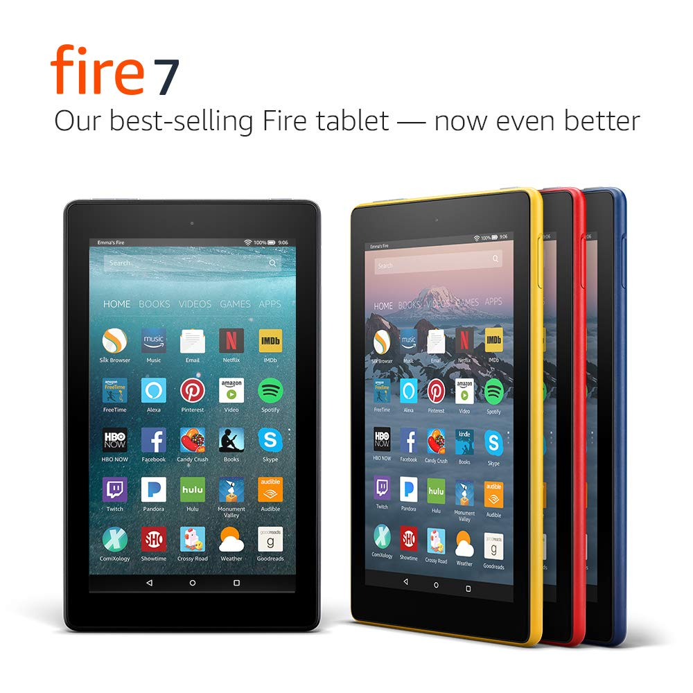 Fire 7 Tablet  (7'' display, 16 GB) - Red - (Previous Generation - 7th) by Amazon (Image #7)