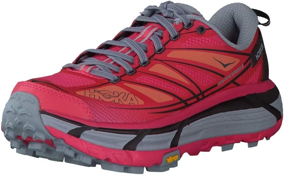 hoka Mafate Speed 2 Woman Azalea/Black – Zapatillas Trail Running ...