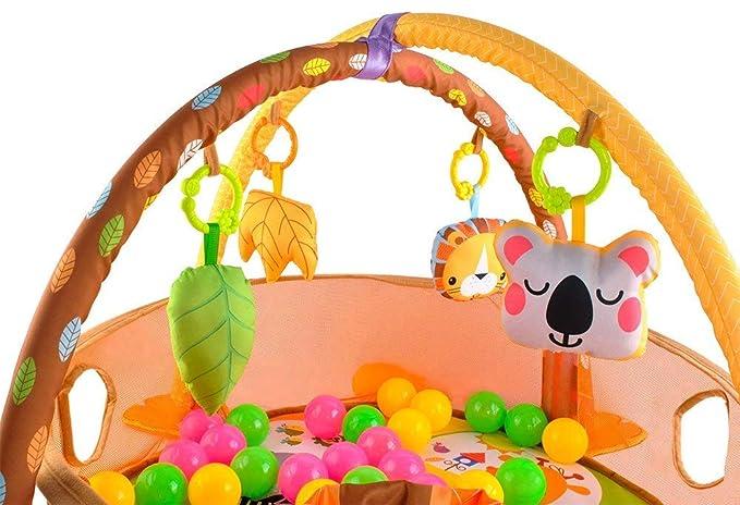 Bebé alfombra de juegos con arco de juego y bolas Manta de arrastre