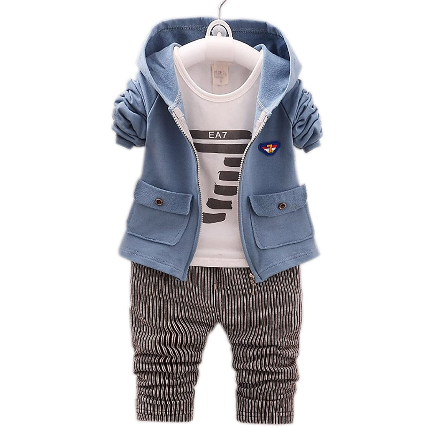 Pants DIIMUU Kids Baby Boy Clothes Boys Clothing Suits Outfits Sets T-shirt