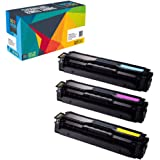 Doitwiser Compatible Toner Cartridges Replacement for Samsung CLP-415 CLP-415N CLP-415NW CLP-470 CLP-475 CLX-4195FN CLX-4195FW Xpress SL-C1810W SL-C1860FW 3-Pack