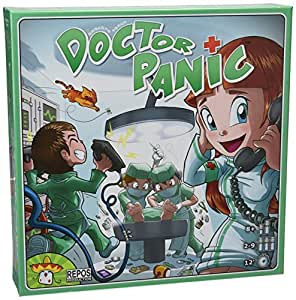 Asmodee Juego de Tablero Doctor Panic REDO0001