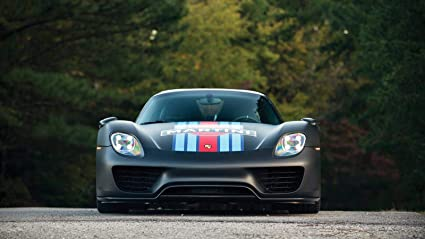 Amazon Com Porsche 918 Spyder Weissach Package Martini Racing Car