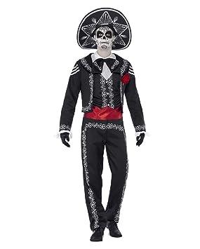 Horror-Shop Día de Muertos el traje del novio S: Amazon.es ...