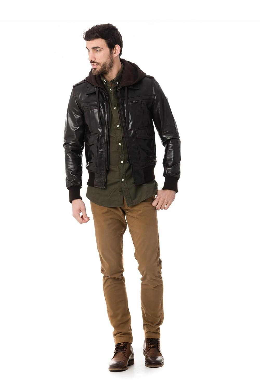 Foncé Bomber Taille Serge Vêtements Marron Accessoires Et Zz M Brown Blouson Gb Pariente Ftw0tq1