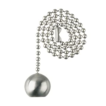 westinghouse lighting 77217 decorative pull chain 12 brushed nickel - Decorative Chain