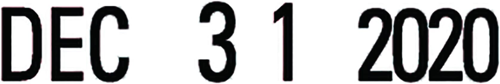 Message Dater Black 1 x 5//32 Pre-Inked Xstamper 52112 VersaDater Line Dater