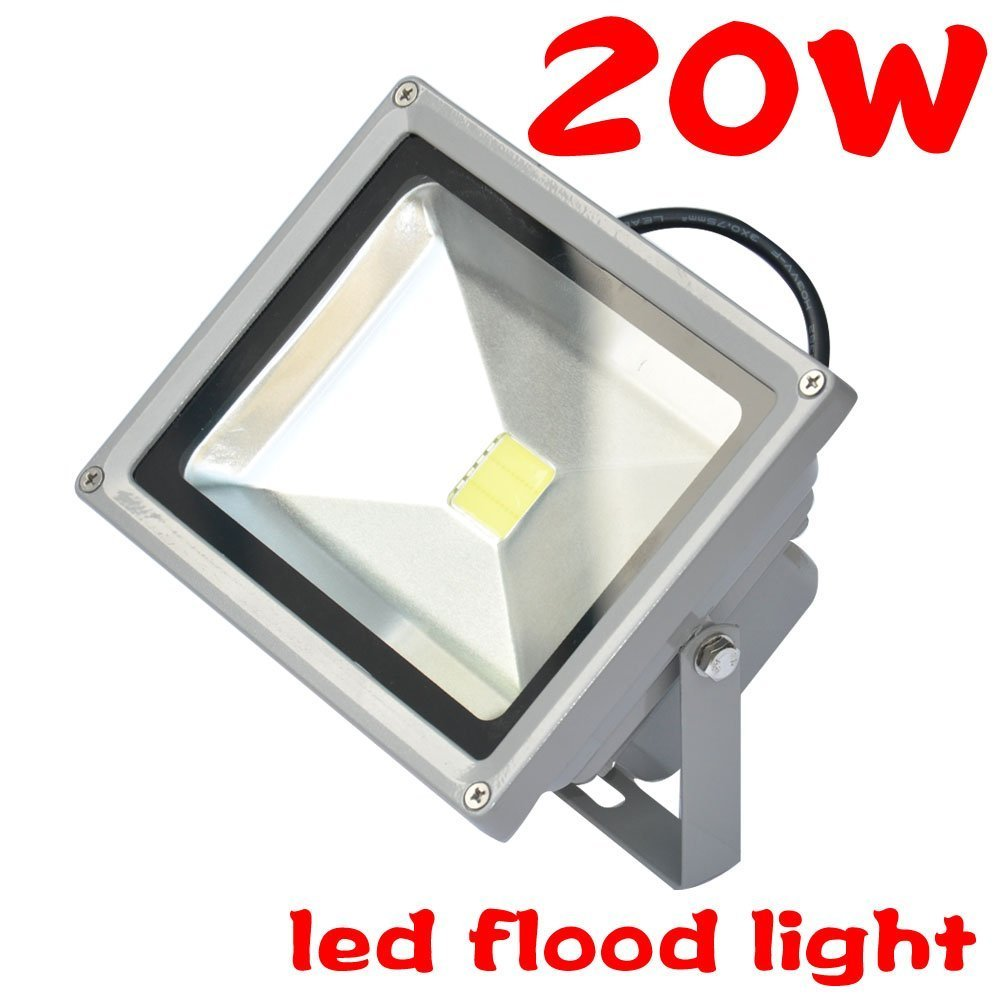 Amazon.com : 20W Cool White LED Wall Pack Wash Flood Light Spotlight Outdoor  90V - 240V AC High Quality Chip : Garden & Outdoor