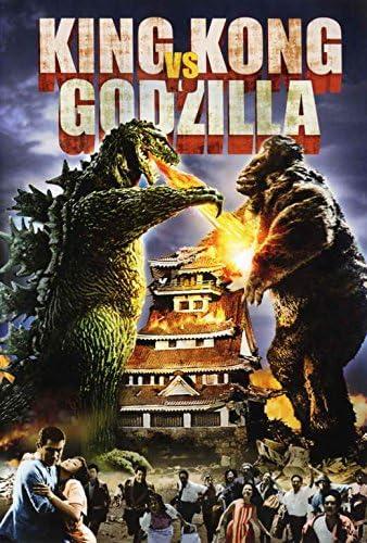 Amazon Com King Kong Vs Godzilla Poster Movie 27 X 40 Inches 69cm X 102cm 1963 Style B Posters Prints