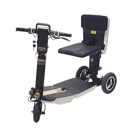 Amazon.com: GYFY Bicicleta plegable de litio con tres ruedas ...