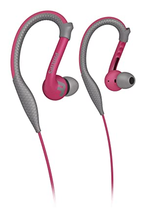 Philips ActionFit SHQ3200PK/28 auricular Intraaural gancho de oreja Rosa: Amazon.es: Electrónica