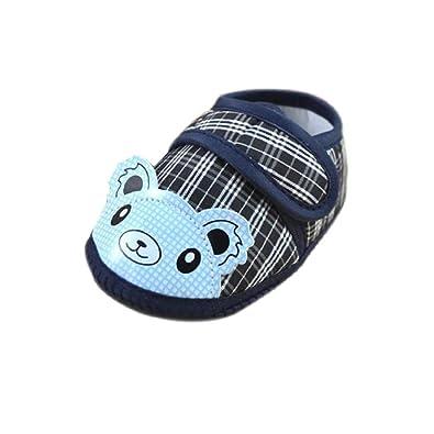 ddf72d1464735 Bonjouree Chaussures Souples Bébé Premiers Pas pour Enfant Filles Garçons   Amazon.fr  Chaussures et Sacs