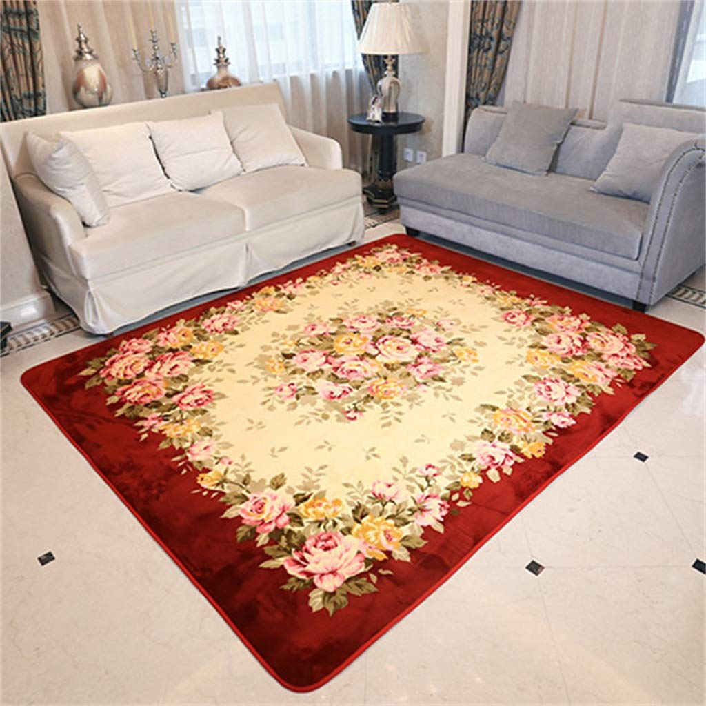 Polyester Restaurant Carpet Design Bedroom Living Room Creative Interior Cover