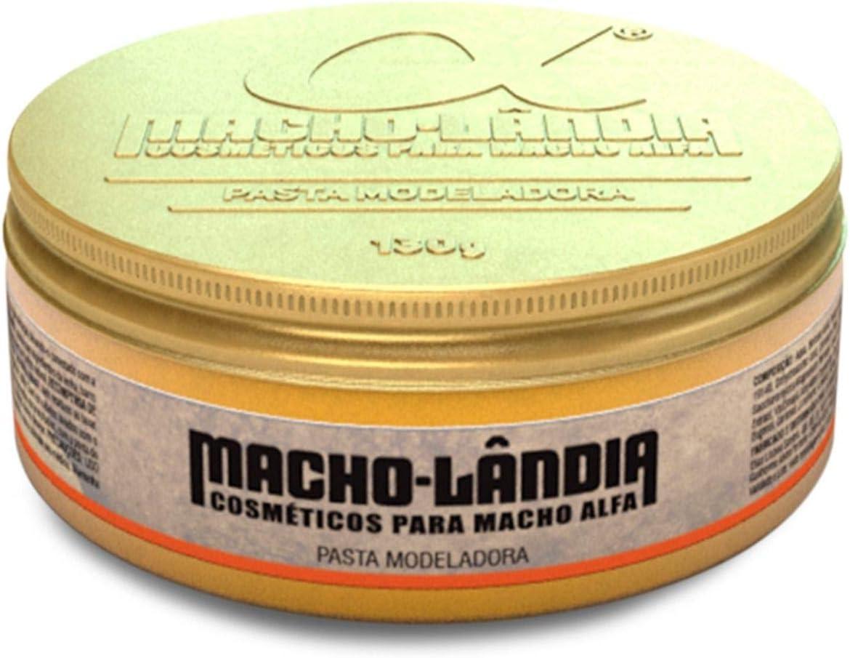 Pomada Modeladora Para Cabelo Macho-lândia Pasta Fix 130g por Macho-Lândia