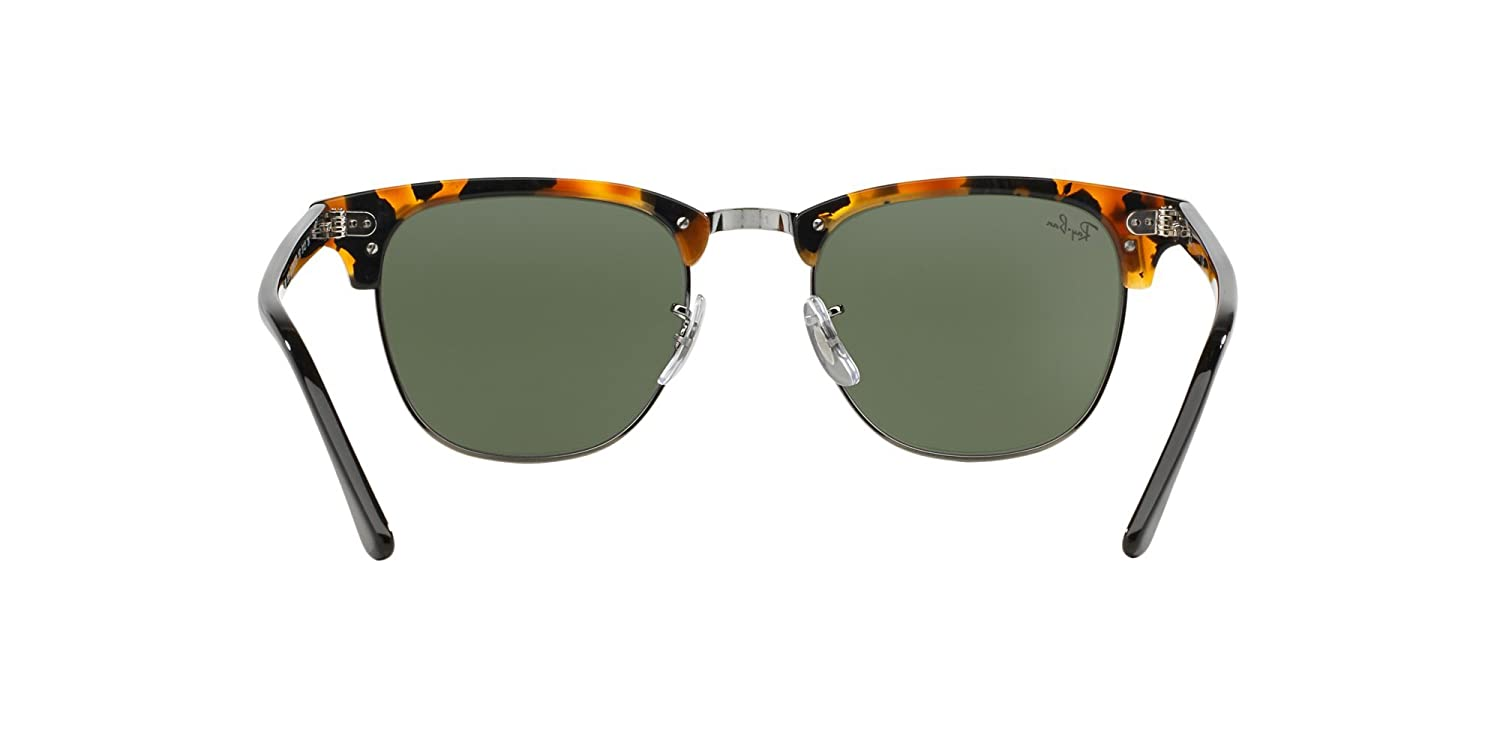 e85f93caf5 Amazon.com  RAY-BAN RB3016 - 1157E SUNGLASSES HAVANA SPOTTED BLACK GREEN  49MM  Clothing