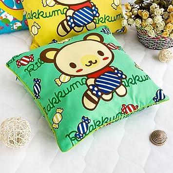 Amazon.com: [Green Candy Oso] decorativos Cojín/cojín de ...