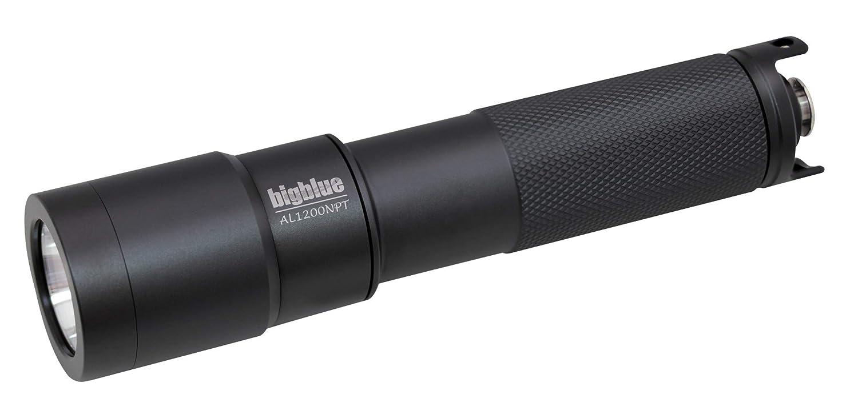 BigBlue 1200 Lumens Dive Light AL1200 w//Tail Switch