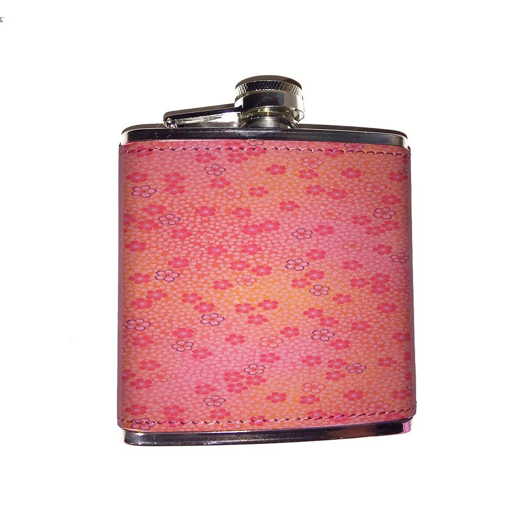 独特の上品 ピンクフラワーパターンピンクフラスコ 6 flaskpink053 oz. oz. ピンク flaskpink053 pink flask pink B0757353CD, 洗濯用品 ニシダ:ce6d3321 --- a0267596.xsph.ru