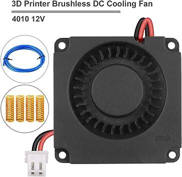 Innovateking-EU Impresora 3D Ventilador de enfriamiento CC sin ...