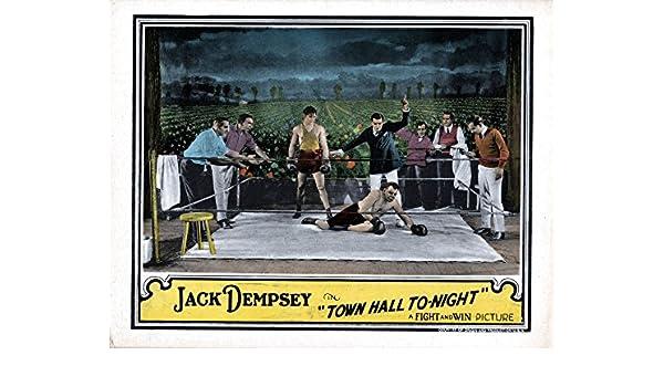 The Town Hall To-Night Movie Poster Masterprint (35,56 x 27,94 cm): Amazon.es: Hogar