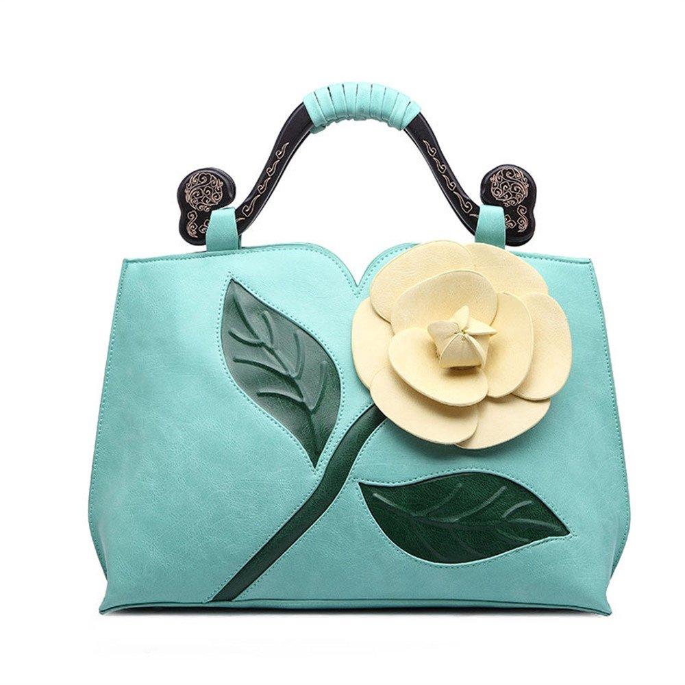 SunyixinNb Damenhandtasche aus klassischen klassischen klassischen großen Blaumen B07DNBKGF5 Zusatztaschen Bekannt für seine schöne Qualität cfd635