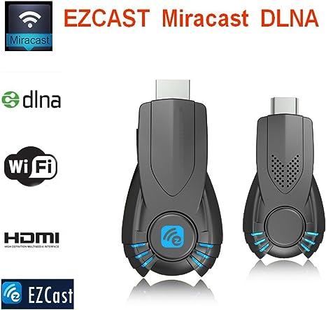 fushiton Allcast Wifi Pantalla Dongle HDMI 1080P TV 128 MB adaptador HDMI a HDMI de alta velocidad para iphone/android/Windows/Samsung Android/iOS 7.0 o Superior Full HD 3d: Amazon.es: Electrónica