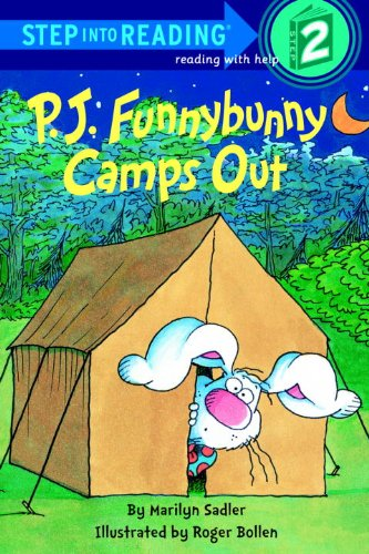 P.J. Funnybunny Camps Out (Turtleback School & Library Binding Edition) (Step Into Reading: A Step 1 Book)