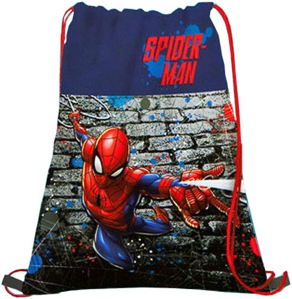 Undercover Marvel Spiderman - Bolsa para zapatos (40 x 32 cm), diseño de Spiderman