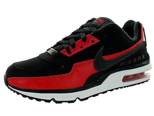 quality design cc86e 74fc8 Nike Men's Air Max LTD 3 Black/Red/Anthracite 687977-006 (SIZE: 8 ...