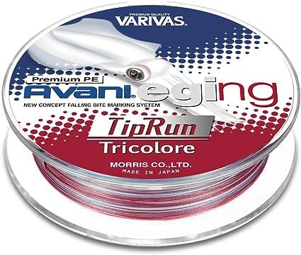 バリバス アバニ エギングプレミアムPEティップラン トリコロール 150m 0.8号の画像
