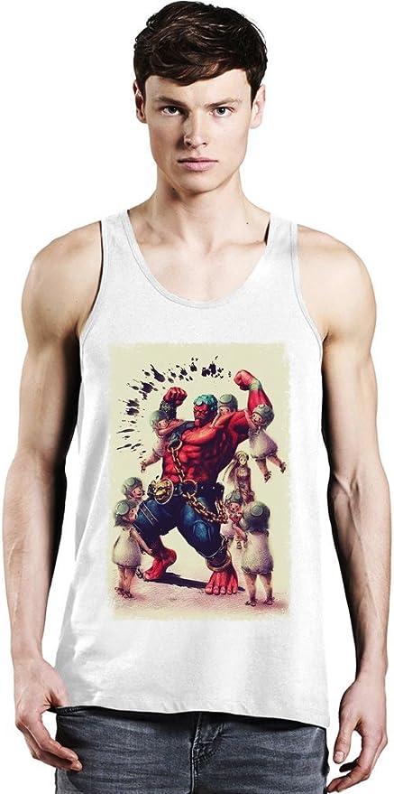 Super Street Fighter IV Hakan Tank Top: Amazon.es: Ropa y ...