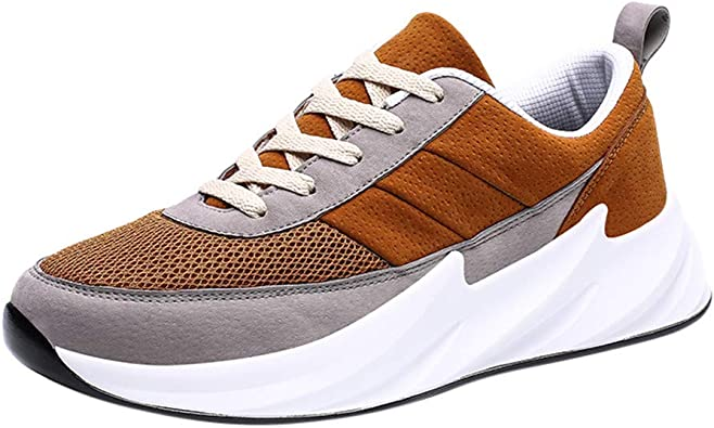 Zapatillas de Deporte Respirable TWIFER Sneakers Zapatillas Running Hombre Mujer Unisex Transpirables Antideslizante Deporte para Correr Trail Fitness Athletic Negro Verde marrón 39-46: Amazon.es: Zapatos y complementos